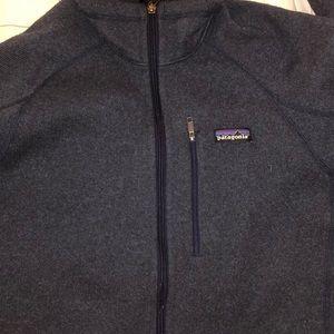 Mens Patagonia Better Sweater Fleece Zip Jacket